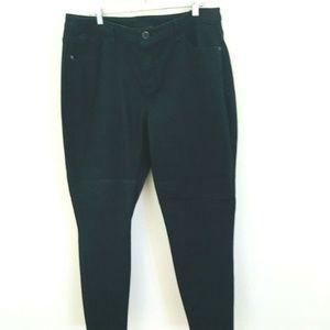 Lane Bryant Dark Wash Skinny Jeans